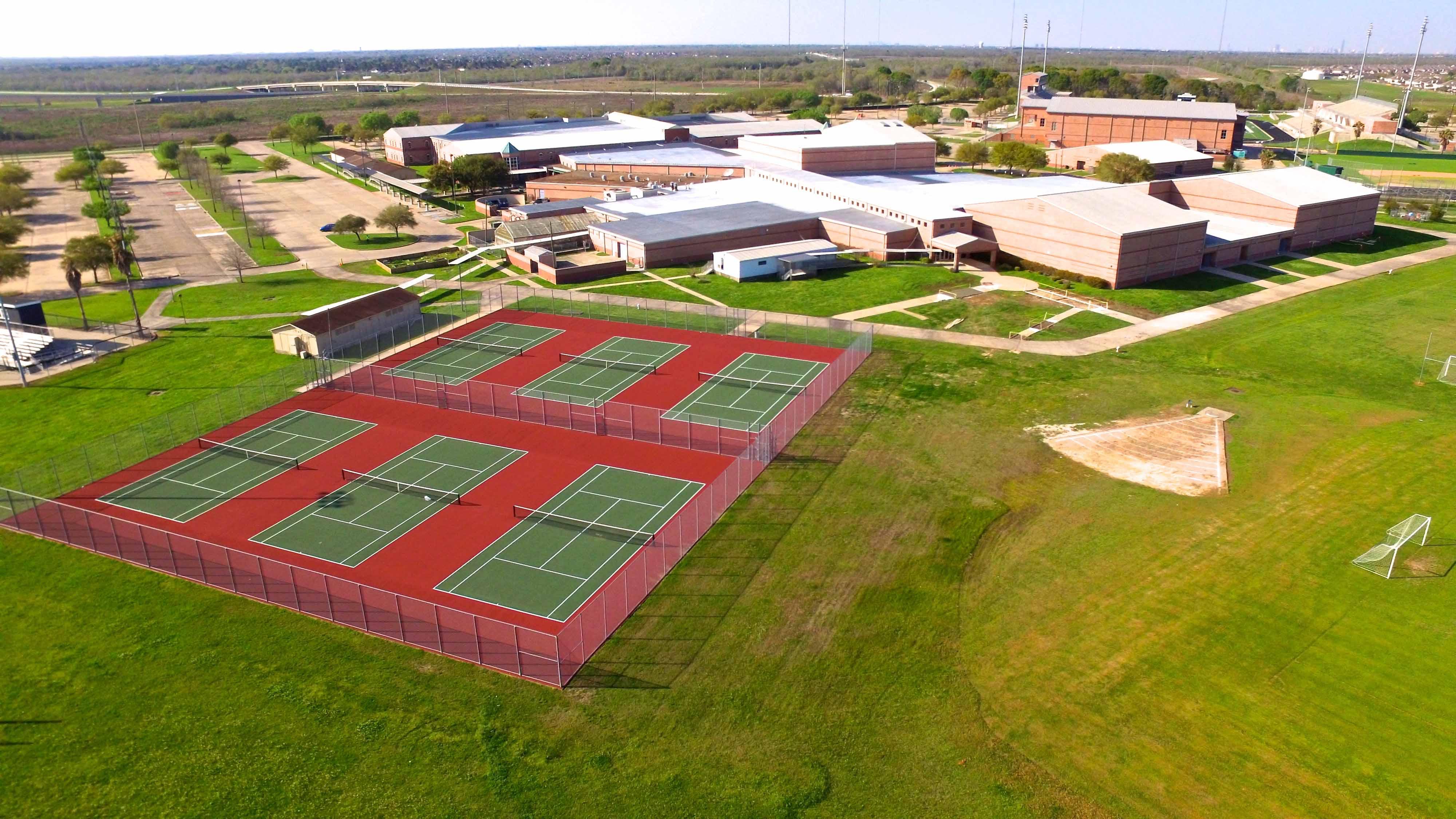 Fort Bend Isd Tennis Court Repairs Lmc Corporation Award Winning